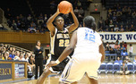 Wake Forest  senior guard Lakevia Boykin leads the Demon Deacons in scoring with 14.5 points per game.