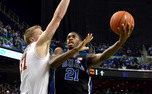 Sophomore Amile Jefferson is playing his best basketball of the season as Duke gets set to enter ACC play.