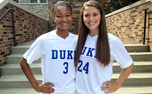 Duke freshmen Imani Dorsey and Morgan Reid were named to TopDrawerSoccer.com's preseason Top XI Freshman squad.
