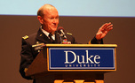 Gen. Martin Dempsey will speak at the Class of 2014's commencement ceremony.