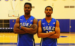 Freshmen Semi Ojeleye and Matt Jones have a chance to make an impact off the bench for the Blue Devils.