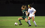 After scoring five goals in its first six games, Duke exploded for three scores in a shutout win against Miami.