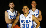 Ryan Kelly, Seth Curry and Mason Plumlee won a championship in their first season at Duke and will try to bring back that magic this year as seniors.