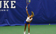 Mary Clayton and partner Ester Goldfeld took down the nation's No. 3 doubles team.