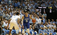 In two games against North Carolina, freshman Tyus Jones is averaging 23.0 points, 6.5 rebounds, 7.5 assists and 2.0 steals per contest.