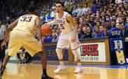 Freshman point guard Tyus Jones has started all 33 games for the Blue Devils heading into the NCAA tournament.