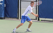 Raphael Hemmeler clinched the match for Duke and propelled them to the ACC Championship semifinals.
