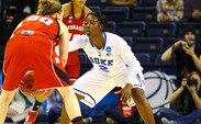 Alexis Jones scored 14 points, dished out six assists and grabbed eight rebounds in Duke's victory.