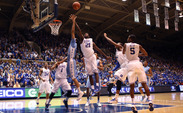 Duke held North Carolina to just 20 rebounds Saturday, the Tar Heels' lowest single-game total since 1987.