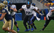Right guard Laken Tomlinson has excelled on and off the field at Duke and will likely be one of several Blue Devils to hear his name called during the 2015 NFL Draft.