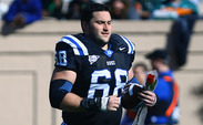 Brian Moore anchored Duke's offensive line, playing  both guard and center in his time with the Blue Devils.