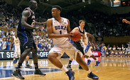 Freshman Jabari Parker led the way for Duke with 10 rebounds as the Blue Devils won the battle on the glass 42-28i Monday's win against UNC-Asheville.
