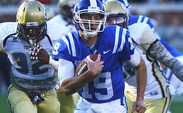 Sean Renfree will be one of 14 seniors playing his final game at Wallace Wade Stadium Saturday.