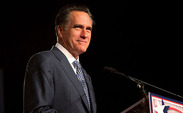 Presidential candidate Mitt Romney spoke about jobs in Asheville, N.C. Thursday.