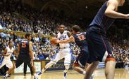 Rasheed Sulaimon played the hero for Duke, knocking down the go-ahead 3-pointer as the Blue Devils topped Virginia.