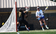 Junior Kerrin Maurer has not gone a contest without notching multiple goals for the Blue Devils this year.