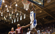 Redshirt sophomore Rodney Hood led all scorers with 21 points as the Blue Devils topped Virginia Tech 66-48.