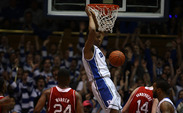 Freshman Jabari Parker scored 23 points as the Blue Devils posted a 35-point home win against N.C. State.