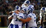 With a 28-21 win against Wake Forest, the Blue Devils won their ninth game of the season and have clinched at least a share of the ACC's Coastal Division title.