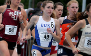 Juliet Bottorff led a group of seven Blue Devils that qualified for NCAA Championships at the East regionals this weekend.