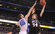 A student when Duke beat Butler in the 2010 National Championship, Drew Cannon is now a graduate assistant at Butler.