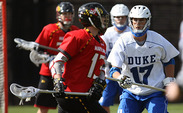 Dan DiMaria played for Harvard last season and now is a Fuqua student.