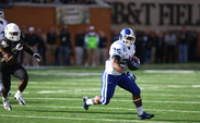 Sophomore Jela Duncan, who was Duke's leading rusher for the 2013 season, was suspended for a year by the University for academic violations.