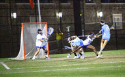 Duke goalkeeper Kelsey Duryea will have to defend an OSU offense that averages 12.9 goals per game.