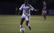 Toni Payne gave the Blue Devils a 1-0 advantage with an tenacious individual effort, but Duke could not make the lead hold up Thursday against Virginia.