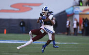 Duke wideout Jamison Crowder finished out a historic career in the Sun Bowl and was named to the CBS Sports All-Bowl Team for his 68-yard second quarter punt return touchdown.