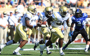 After Georgia Tech scored 38 points on Duke's defense, Navy will bring the triple-option offense back to Wallace Wade Stadium.