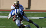 The Blue Devlis travel to Tallahassee Saturday to face the eleventh-ranked Florida State Seminoles.