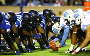 Duke and North Carolina will square off Saturday with the ACC's Coastal Division title on the line.