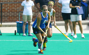 Devon Gagliardi notched her first career hat trick against the Golden Flashes.