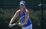 Senior Ester Goldfeld—the No. 87 singles player in the nation—will look to build on her first victory against William & Mary Saturday when the Blue Devils host Louisville.