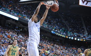 Jahlil Okafor scored 28 of Duke's 64 points Friday.