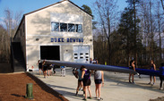 The Blue Devils officially opened a new boathouse Saturday, upgrading to a Division I-caliber facility after years of fundraising.