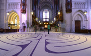 Hoping to attract members of the Duke, Divinity School and Durham communities, the labyrinth is a modern take on an ancient religious symbol used to help people find inner peace.