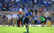 Although he became the first quarterback in Duke history to throw for 300 yards and rush for 100 in the same game, Brandon Connette will try to put an end to Duke's two-game losing streak against Troy this weekend.