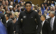 Jabari Parker officially visited Duke for the team's exhibition game against Western Washington.