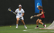 Kerrin Maurer became Duke's all-time assists leader with her two helpers Sunday.