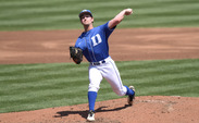 Junior Trent Swart tossed seven scoreless innings and got four early runs of support as Duke picked up its eighth straight win.