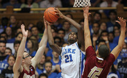 Amile Jefferson hopes to bulk up to 220 pounds, which could give him the size to play center.