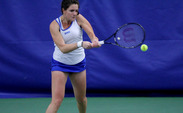 Senior Ester Goldfeld's Duke career came to a close Wednesday against Alabama's Erin Routliffe.