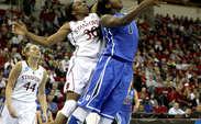 Center Elizabeth Williams is the first Duke freshman ever to be named an Associated Press All-American.