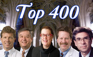 (from left to right) Dr. Eric Peterson, Marc Caron, Terrie Moffitt, Dr. Robert Califf and Dr. Robert Lefkowitz were listed among the 400 most influential biomedical scientists by the European Journal of Clinical Investigation.