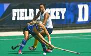 Emmie Le Marchand was one of two Blue Devils to earn All-ACC honors this season.