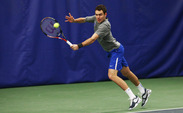 The Blue Devils recovered from early losses in doubles play to take a 4-2 victory against rival North Carolina to win the ITA Kick-Off Weekend.