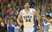 Ryan Kelly was selected 48th overall by the Los Angeles Lakers in the 2013 NBA draft.