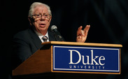 Bernstein encouraged Duke students to always pursue the truth.